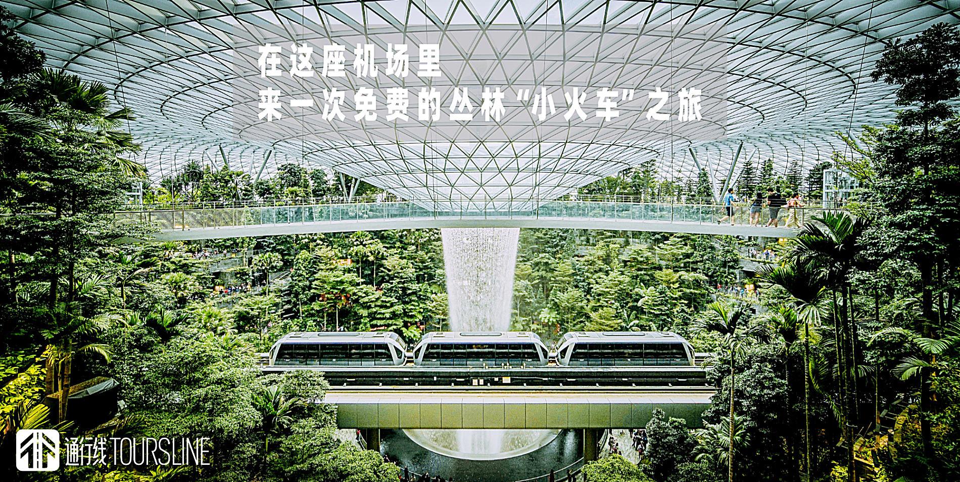 """在这座机场里,来一次免费的丛林""""小火车""""之旅"""